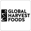 GLOBAL HARVEST FOODS Logo